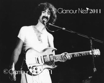 Photography Print of Frank Zappa Rockin' Out ~ Digital Download