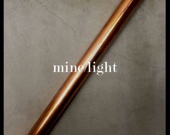 copper pipe lighting