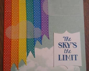 The sky's the limit w/ clouds