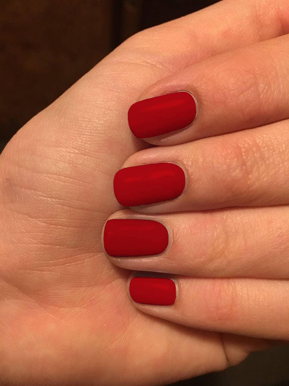 Nail wraps, Red nail wraps, Ruby Red colored nails, nail polish ...