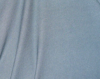 "Light Blue Grey Jersey Fabric - 54"" Wide - 2 Yard (KF16)"