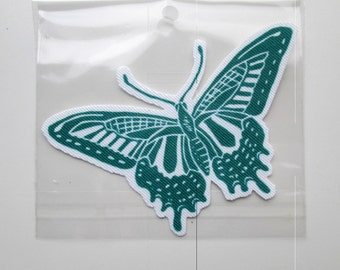 swallowtail butterfly iron on patch