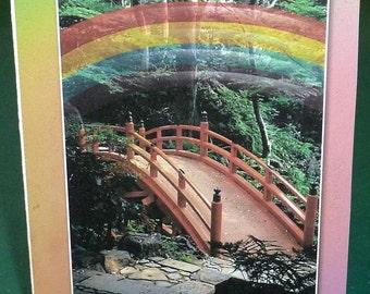 Female Pet Sympathy Card - Rainbow Bridge
