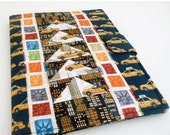 CLEARANCE SALE Patchwork New York City iPad 2 Cover also fits iPad 3 and 4, Taxi Cabs and Buildings