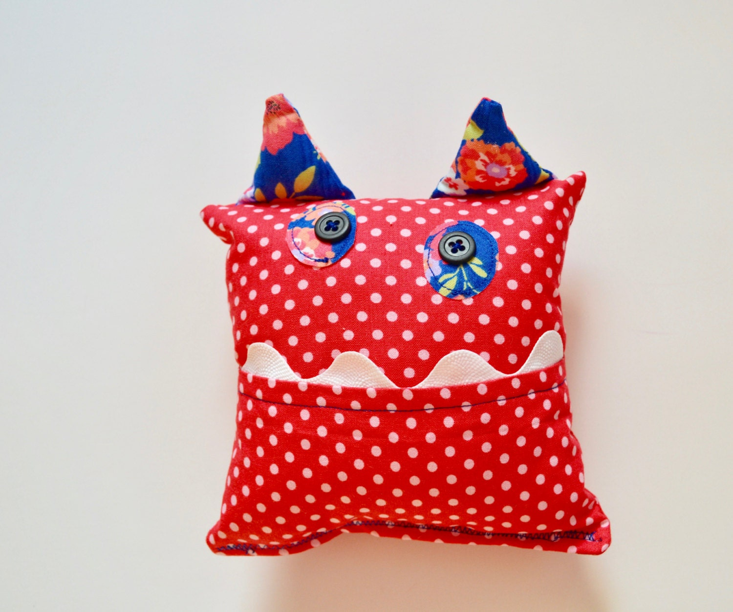 Monster Tooth fairy Pillow Tooth Pillow Girls Tooth Pillow