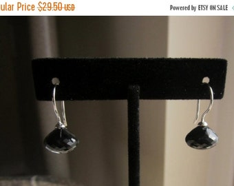 BlackFridaySale Black Spinel Earrings, Candy Kiss Earrings, Onion Shape Earrings, Black Spinel Onion Shape Earrings, Classic  Black,