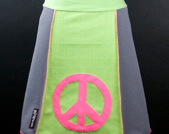 Give Peace a Chance A-Line Skirt   Multiple Sizes