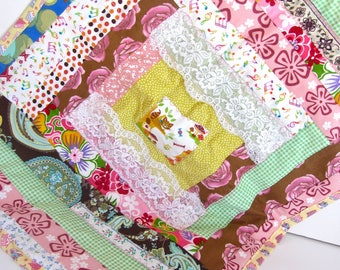 Quilted Blanket for Doll American Girl, Teddy Bear or Other Loved Stuffy
