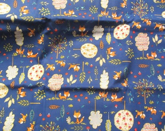 Dena Designs Fox Playground PWDF 189 OOP Cotton Westminster