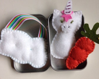 Tiny Toys for Travel - Unicorn