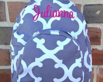Personalized Toddler Backpack - Daycare Backpack - Nursery Backpack - Toddler Diaper Bag - Monogrammed Backpack