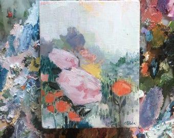 floral no. 23 - original oil painting