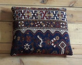 Antique persian rug pillow/cushion