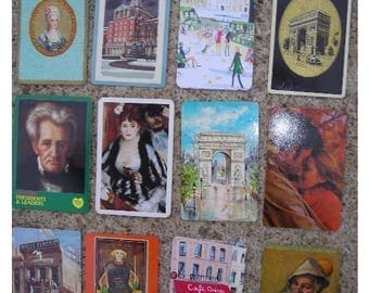 Assortment of Cards for ATC Creations - Faces and Places