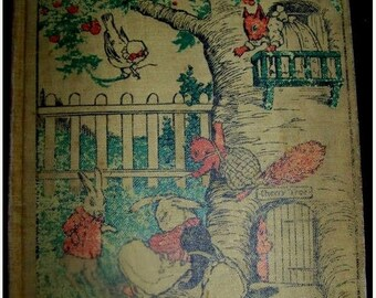 Vintage Children's Book CHERRY Tree Children M. Blaisdell Author 1912
