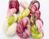 Rose Variegated Hand Dyed Yarn - Dyed to Order