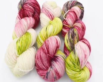 Rose Variegated Hand Dyed Yarn - Made to Order