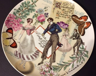 Gloria Vanderbilt Taste Seller Sigma Collector Plate- Rememberence 1977