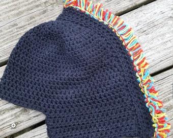 Spartan helmet KID SIZE hat, crocheted, Trifecta, sprint, super, beast