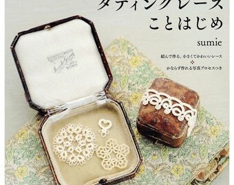 For Beginner TATTING LACE Japanese Craft Book