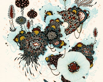 Whisk - Print - Fine Art Print, Giclee Print