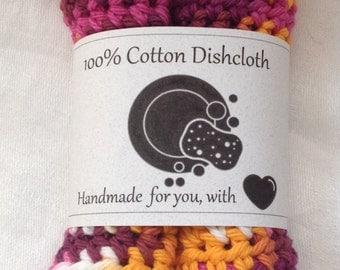 Cotton Dishcloths - set of 2