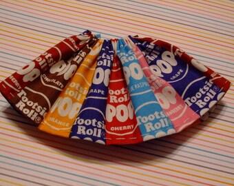 Blythe / DAL Skirt - Tootsie Pop Wrappers