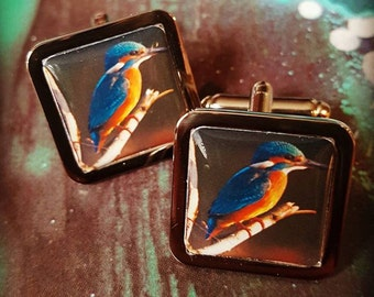 Kingfisher Cufflinks