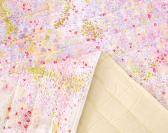 Japanese Fabric Nani Iro Birds Eye quilted double gauze - hanikami - 50cm