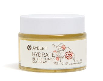 Hydrate Face Cream| Face Cream Hyaluronic Acid| Dry Skin Face Cream| Natural Face Cream| Wrinkle Cream| Neck Décolletage Cream| Organic