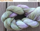 Sale 25% OFF FADED LILAC Handpainted 8/2 Cotton Yarn 225yds 1.0oz  Crochet Hand Painted Aspenmoonarts knitting soft weaving handdyed