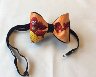 The Flash Pre-Tied Bow Tie,Bow tie, Bow Tie,Ties,Neckties,Groom,Wedding,Geekery,Flash,Prom,