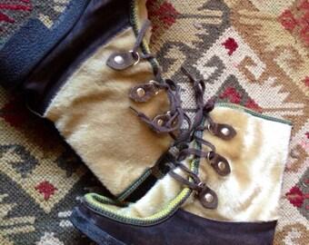 Vtg Italian Snow Boots size 40 US 9