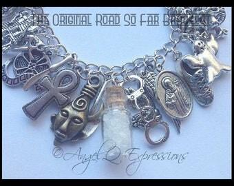 The ORIGINAL Road So Far Supernatural Charm Bracelet Winchesters Together Forever OOAK
