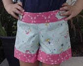 SALE High Tide Shorts - PDF Sewing Pattern Instant Download - Sizes 2 to 14 tween