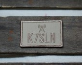 Ham Radio Call Sign Customized Morale Patch