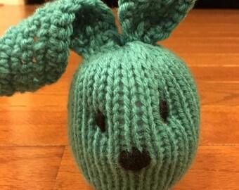 Bunny plushie bunny amigurumi bunny stuffie bunny toy bunny stuffed animal Easter bunny in Turquoise