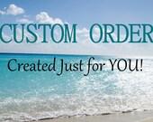 Custom Order for DEB Sea Glass Earrings Aqua Sea Glass Sterling Silver Earrings Beach Glass E-203