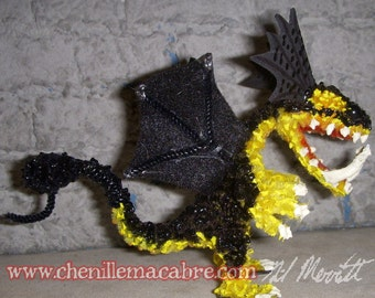 Mangrove Dragon- Chenille Stem Miniature