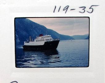 Vintage 35mm Slide Set - Norway - 1970s Travel - Photo Slides - tourist - snapshots - fjords waterfalls boats