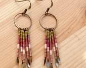 Beaded Fringe Earring - No. 9