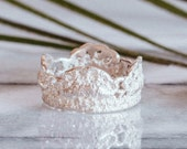 Ella Lace ring in sterling silver