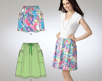 OOP Misses Skirt in Two Lengths Simplicity 1853 Sew Simple Pattern Regular and Plus Size 6-24 UNCUT