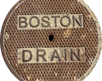 "DOORMAT - Boston ""Drain"" Sewer Cover - Original Photography"