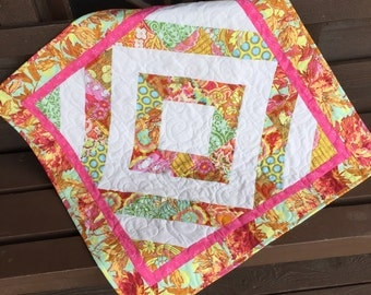 Soul Blossoms baby quilt