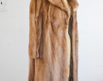 Mink coat 50s mink fur coat