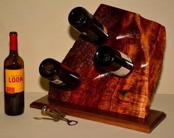 Wine Rack - Hawaiian Koa