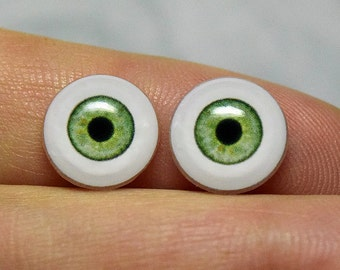 Doll eyes 10mm AD color Cactus