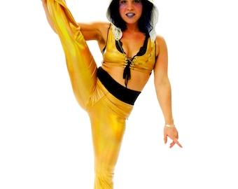 Festival Pants - Hippie Pants - Spandex Pants - Dance Pants - Holographic Clothing - Costume Pants - Festival Leggings - Boho Pants