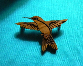 Hovering Hummingbird  Cedar Cutout with or without holes